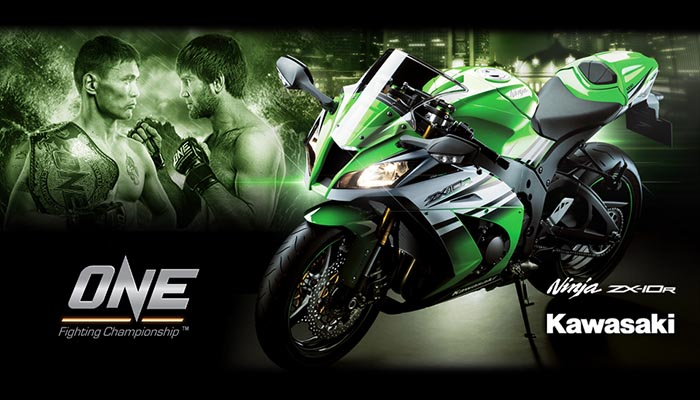 Kawasaki-ZX-10R-one-fighting-championship
