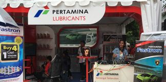 Pertamina Lubricants Booth