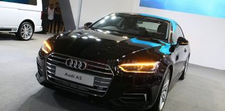 The All New Audi A5 di IIMS 2017