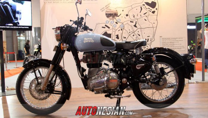 Royal Enfield Redditch Classic 350 Boyong Penghargaan Best Buy Motorcyle Autonesian Com