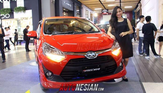 New Toyota Agya Resmi Meluncur di Jawa Barat khususnya Kota Bandung
