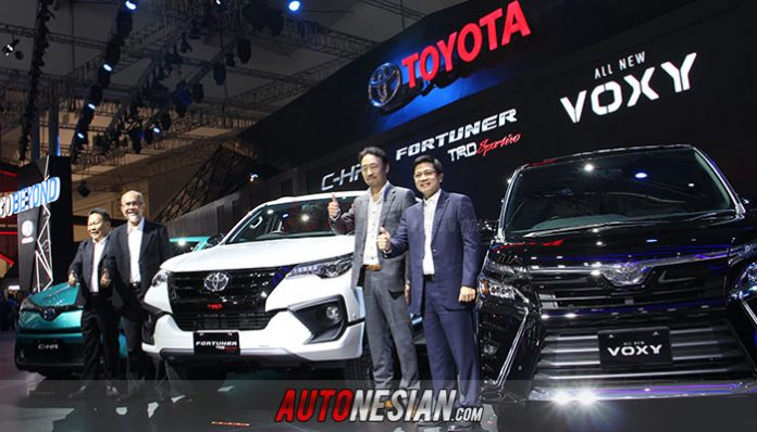 PT. Toyota-Astra Motor (TAM) Tampilkan 28 Produk Pada Ajang GIIAS 2017