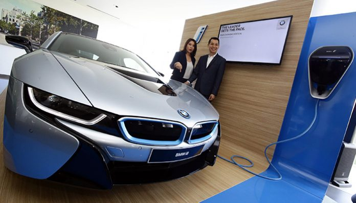 BMW Electric Vehicle Workshop