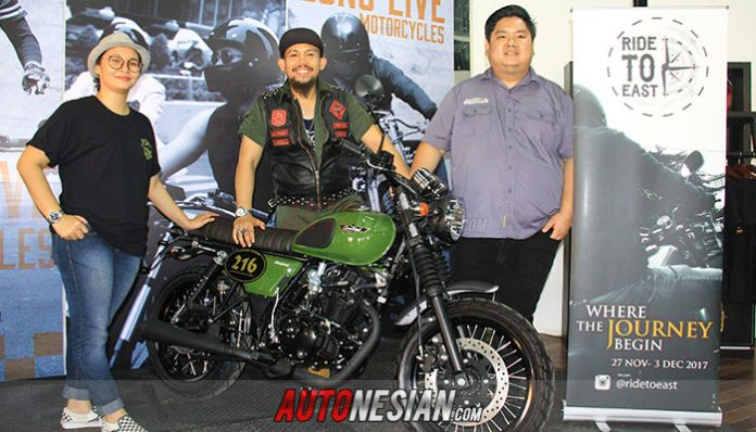 """Cleveland Cyclewerks Gelar Program """"Ride to East: Where the Journey Begin"""""""