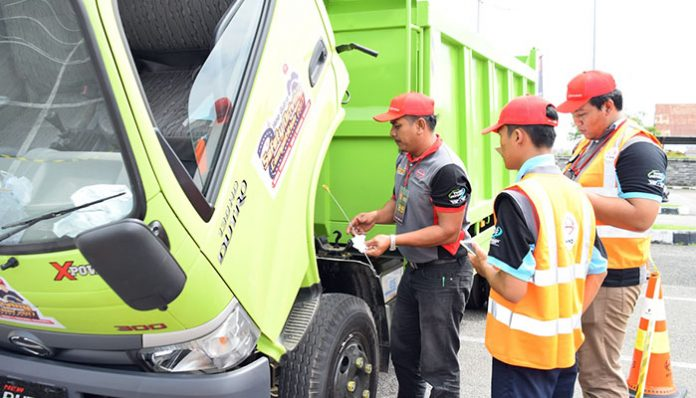 Hino Dutro Safety Driving Competition Medan 2017