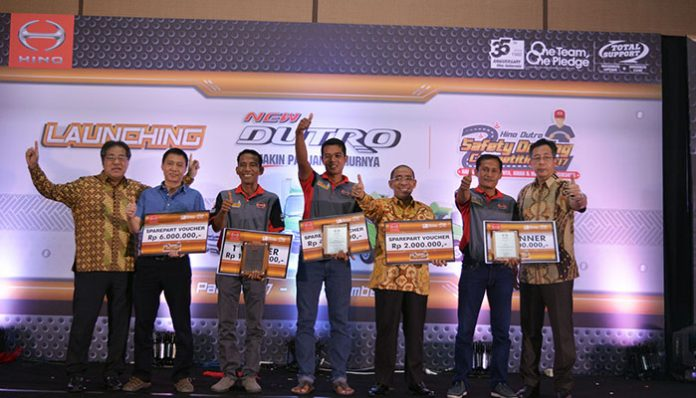 Hino Dutro Safety Driving Competition Padang