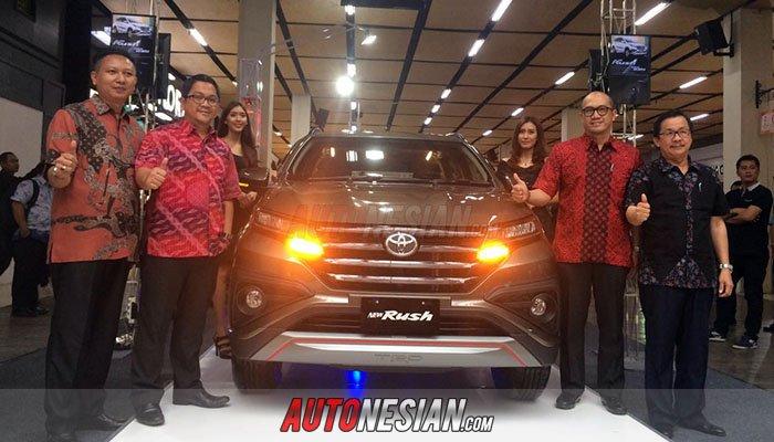 All New Toyota Rush Bandung