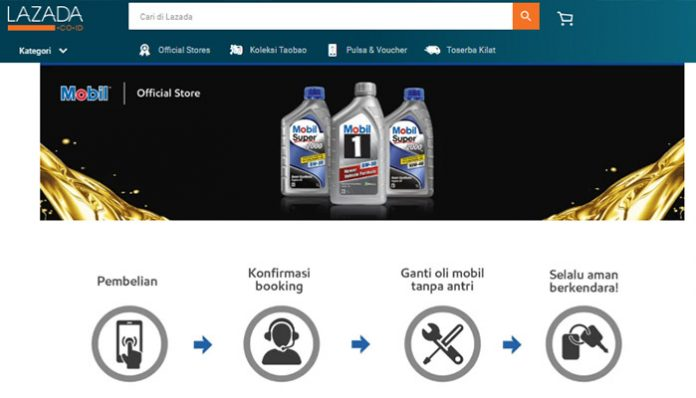 Mobil Lubricants Service Booking Module