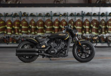 Jack Daniel's Limited Edition Indian Scout Bobbers