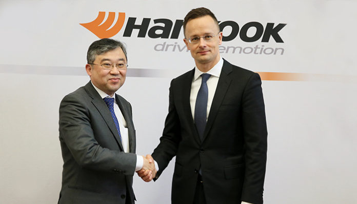Hankook tire announces expansion plans for its Hungarian Plant