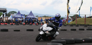 Fun Riding Competition Aerox 155 di Yamaha Sunday Race