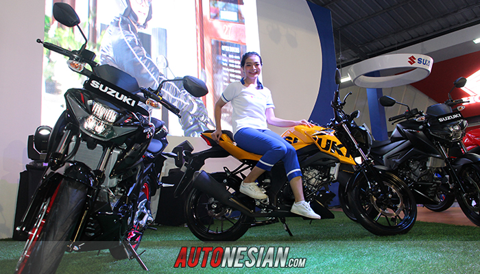 There Is A New Color Champion Of Suzuki Gsx S150 Tech2