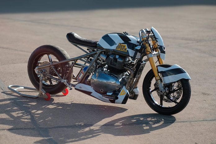 Motor Kustom Royal Enfield Lock Stock