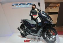 All New Honda PCX Hybrid pada ajang Indonesia International Motor Show (IIMS) 2018