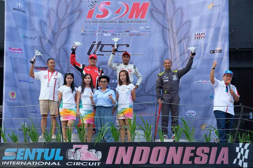 Toyota Team Indonesia di ajang Indonesia Sentul Series of Motorsport (ISSOM) 2018 seri 3.