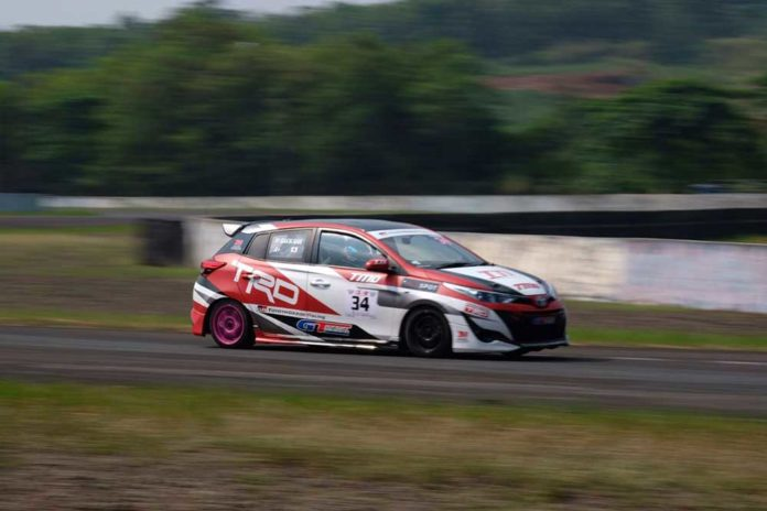 Toyota Team Indonesia di ajang Indonesia Sentul Series of Motorsport (ISSOM) 2018 seri 3