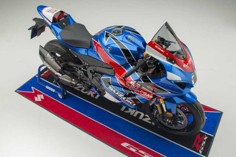 Replika Suzuki GSX-1000R Tim Buildbase