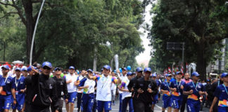 Torch Relay Asian Games 2018 di Bogor