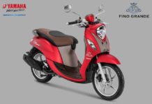 Yamaha Fino Grande Luxury Red