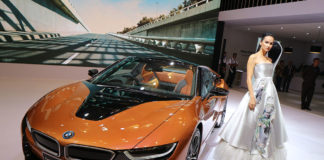 BMW i8 Roadster GIIAS 2018