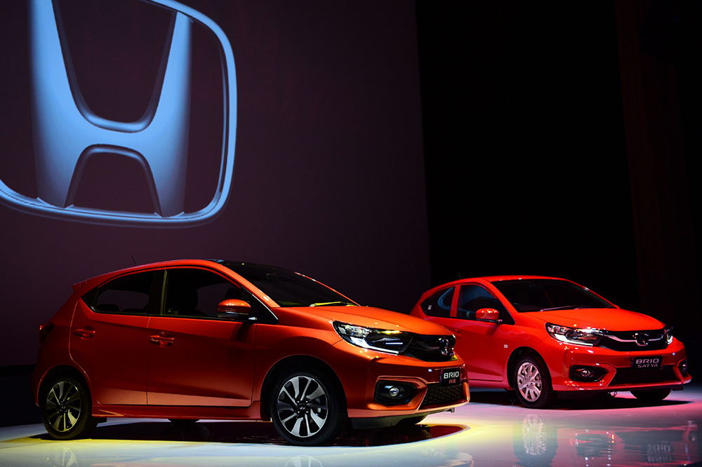 All New honda Brio RS dan Satya