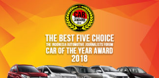 Lima Finalis Mobil Terbaik FORWOT Car of The Year 2018