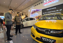 All New Honda Brio Satya