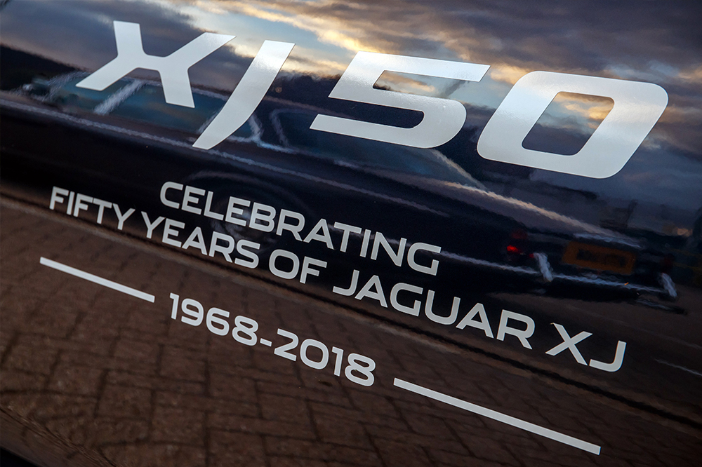 jaguar xj 50th