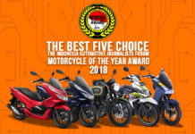 lima finalis Forwot Motorcycle of the Year 2018