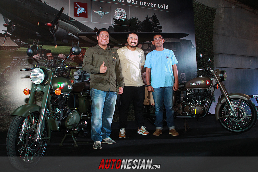 Royal Enfield Classic 500 Pegasus Indonesia