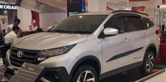 Display unit All New Toyota Rush di Transmart Graha Raya Bintaro