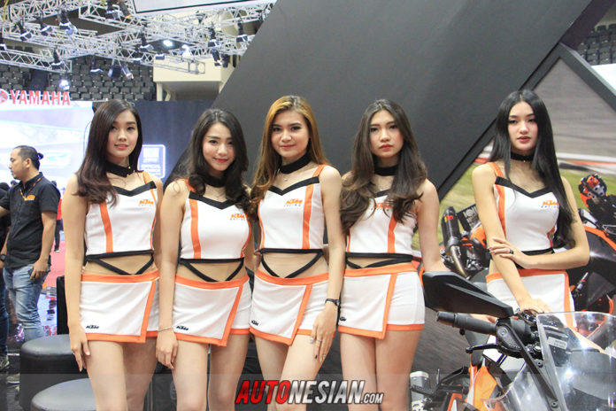 Usher Indonesia Motorcycle Show (IMOS) 2018