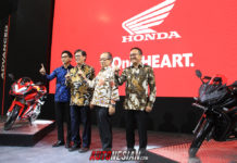 Hadir IMOS 2018, PT Astra Honda Motor (AHM) mengusung tema Do The Impossible