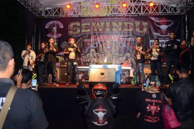 Sewindu Yamaha Byson Bekasi Club