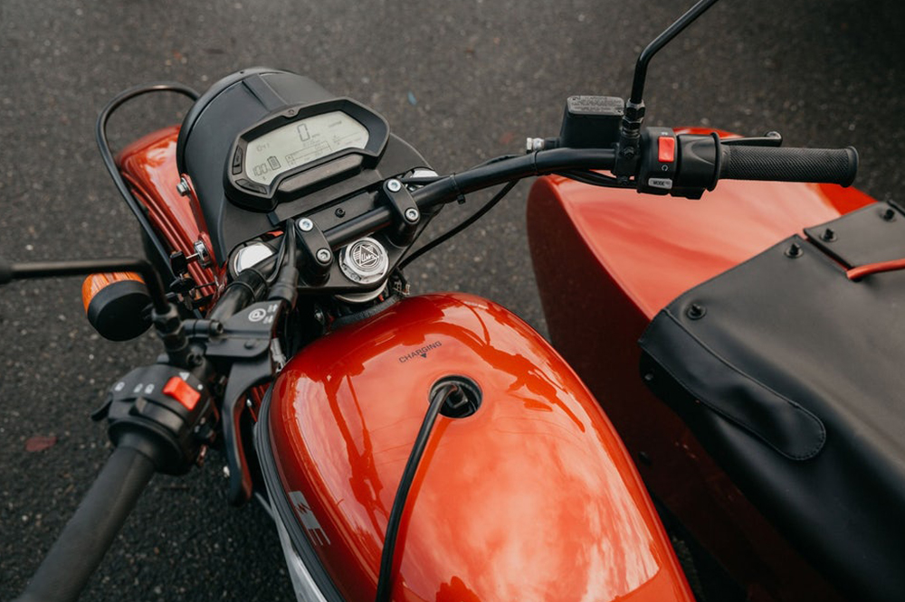 Ural Electric Motorcycle Concept