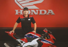 David Johnson Honda Racing Team
