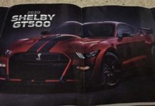 Ford Mustang Shelby GT500 MY2020