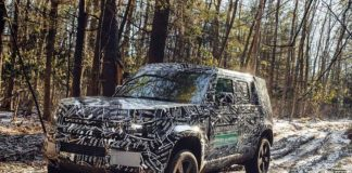 All New Land Rover Defender