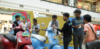 Suasana Mall Exhibition Piaggio Indonesia