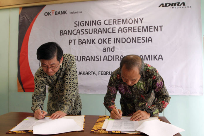 Adira Insurance kerjasama Bank OKE Indonesia