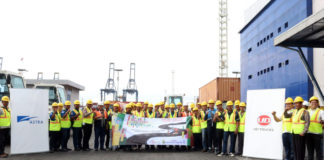 astra ud trucks safety driving tanjung priuk