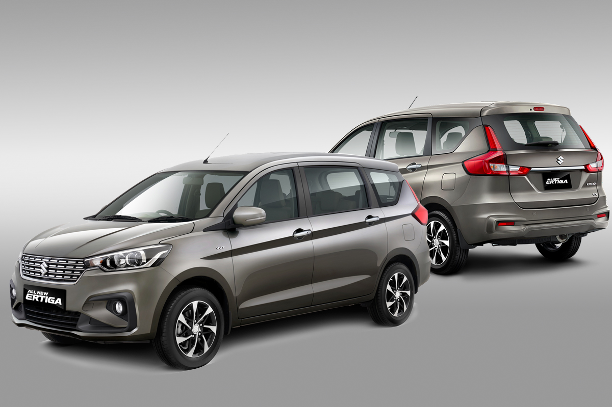 All New Suzuki Ertiga MY2019