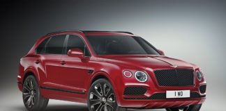 Bentley Bentayga Design Series Candy Red
