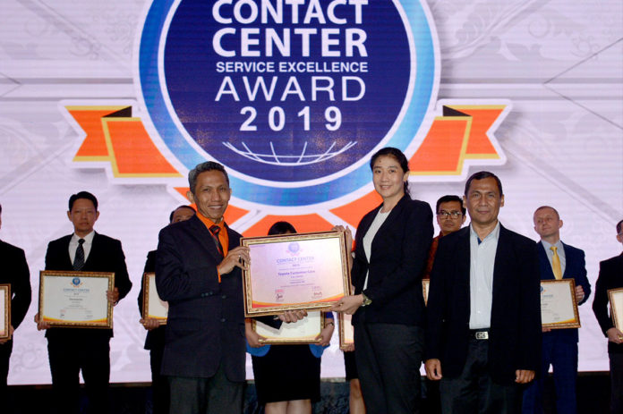 Toyota Indonesia Contact Center Service Excellence Award 2019
