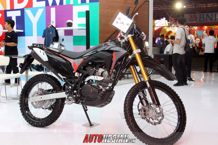 Honda CR250 Rally Extreme Black