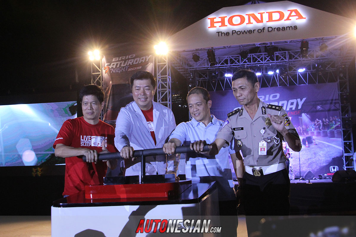 Honda Brio Saturday Night Challenge Jakarta