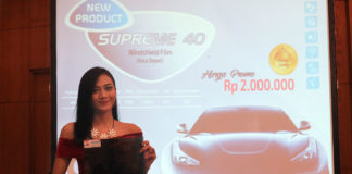 Jaya Kreasi Indonesia Kaca film Llumar Window Film Supreme 40