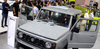 All-New Suzuki Jimny Medium Gray