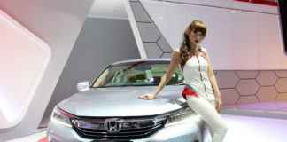 New Honda Accord IIMS 2016