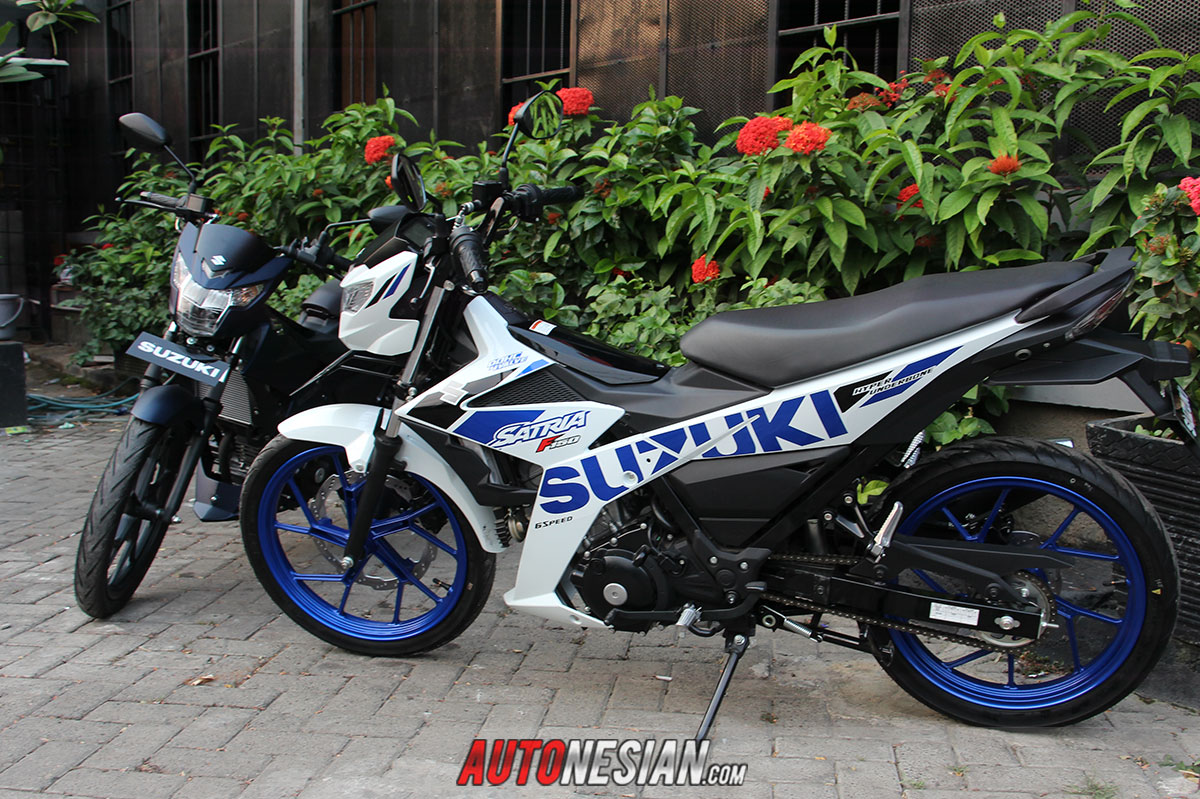 All New Suzuki Satria F150 Special Edition dan Predator